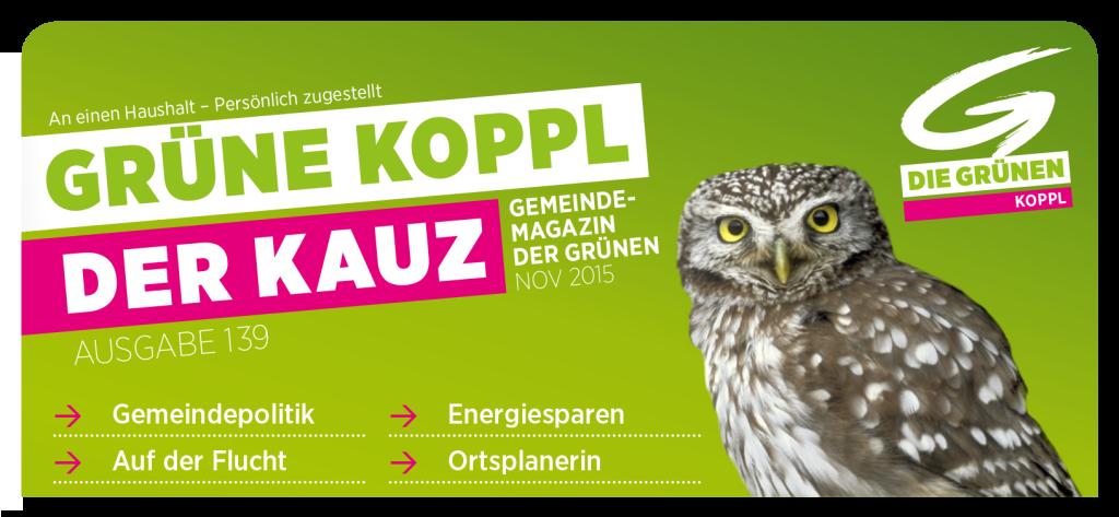 Der neue KAUZ informiert über die Gemeindepolitik in Koppl
